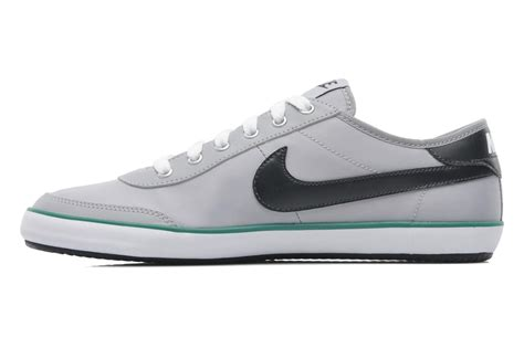 Nike Sweeper Text Grey White nike nike sweeper textile trainers in grey at sarenza co uk 199064