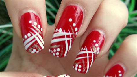 easy nail art red red nail art www pixshark com images galleries with a