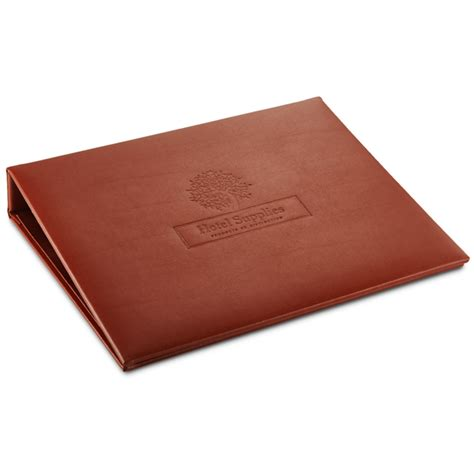 Hotel Room Information Folders by Hotel Room A5 Information Folder A5 Leather Folder