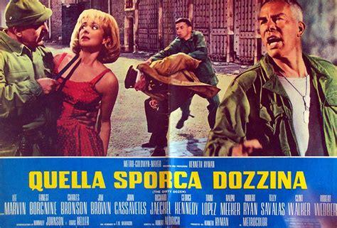 film gratis quella sporca dozzina quot quella sporca dozzina quot movie poster quot the dirty dozen
