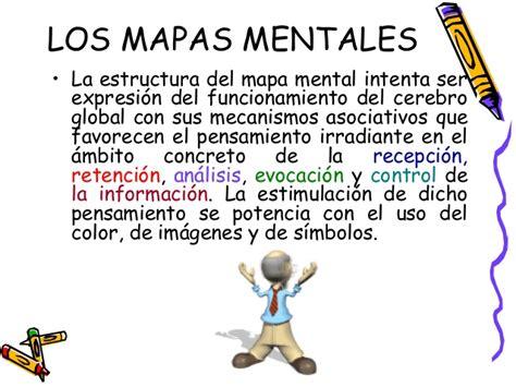 imagenes mentales definicion los mapas conceptuales y los mapas mentales 1