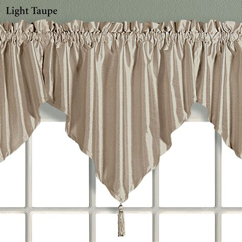 Ascot Valance Annaleigh Faux Silk Ascot Window Treatment