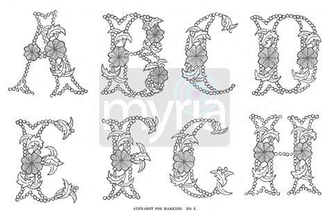 Vintage Lettering Fonts Crafty Printable Vintage Alphabet Beautiful Lettering