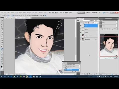 tutorial efek vektor di photoshop tutorial membuat vektor kartun di photoshop cs 5 deescave