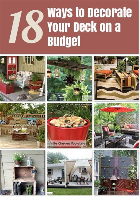 decorate  deck   budget idea box  kristineteeny