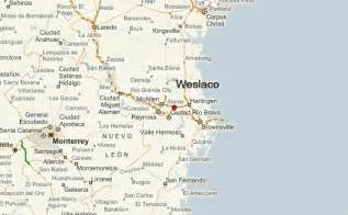 where is weslaco on map weslaco location guide