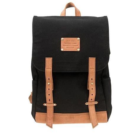 Tas Backpack Bc St042 Unisex Backpack Canvas rugtas leer hippe rugtassen nl