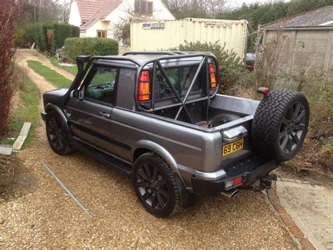 range rover truck conversion same landrover discovery pick up new color tuning