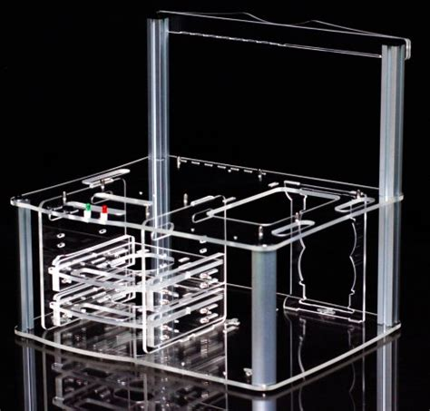 acrylic test bench myopenpc bench master transparent clear acrylic test bench