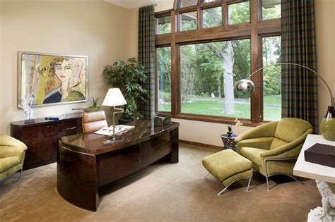 Home Office Design Minneapolis Sophisticated Home Office Contemporary Home Office