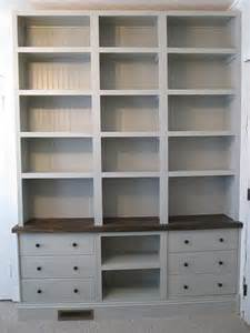 Folding Bookcase Ikea Built In Bookshelves With Rast Drawer Base Ikea Hackers
