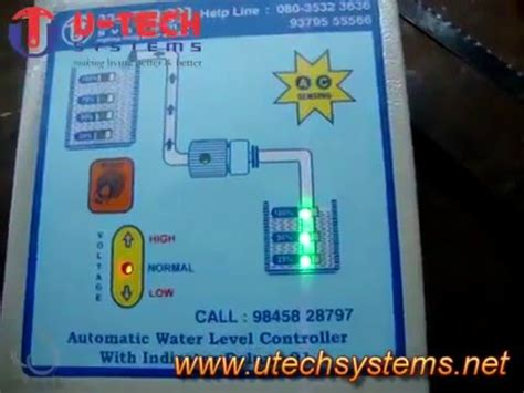 automatic water level controller   tech systems