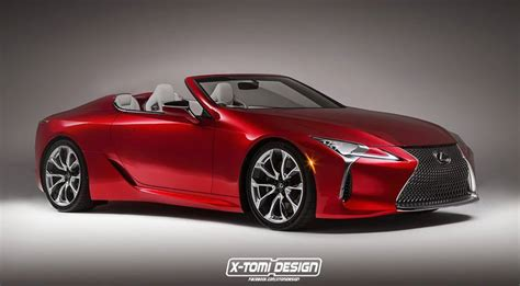 lexus lc  convertible reported coming