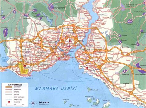 printable map of istanbul turkey map of istanbul free printable maps