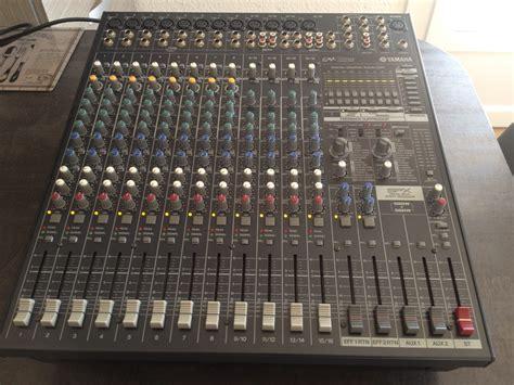 Mixer Yamaha Emx 5016 yamaha emx5016cf image 928276 audiofanzine