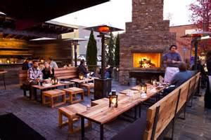 Restaurant Backyard Inspiring Outdoor Restaurant Dining Spaces Megan Morris
