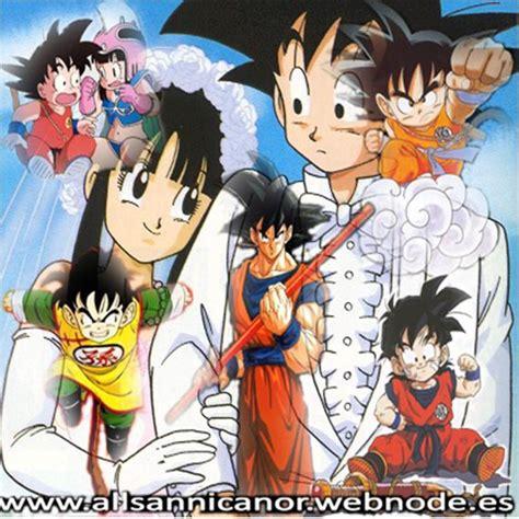 imagenes de la familia de goku goku y su familia imagui