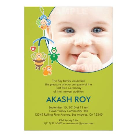 invitation card for name ceremony india personalized hindu ceremony invitations