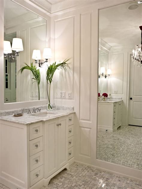 full length bathroom mirrors bathroom powder room inspiration with huge full length
