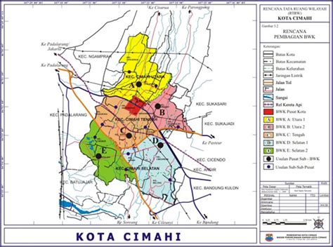 Peta Lipat Kota Cimahi kota cimahi infonusa