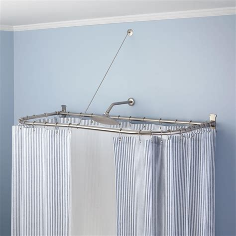u shaped shower curtain rods elegant u shaped shower curtain rod all about house design
