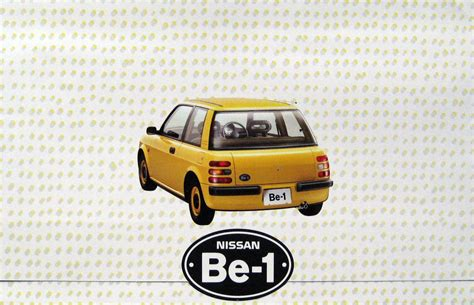 nissan be 1 1985 nissan be 1 concept concepts