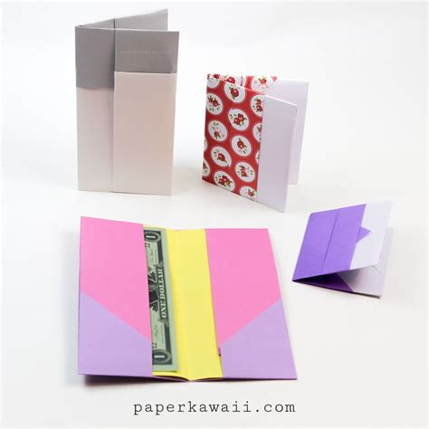 How To Make A Paper Wallet With Pockets - 25 best ideas about origami wallet on simple