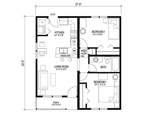 Craftsman Style Bungalow Floor Plans by Craftsman Bungalow Floor Plans Craftsman Bungalow Tiny