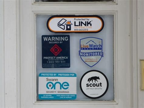 house window stickers the best home security system reviews by wirecutter a new york times company