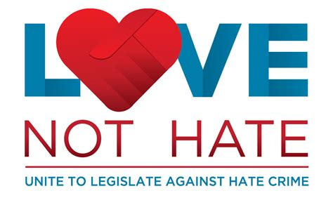 images of love not hate love not hate caign for hate crime legislation