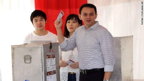 ahok family jakarta election gov ahok concedes loss after divisive