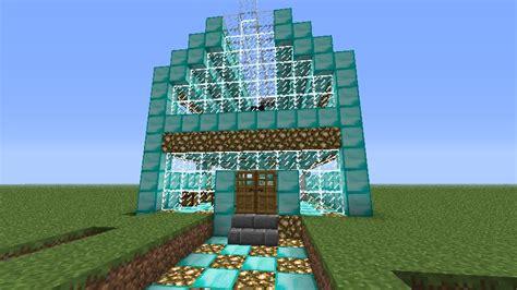 Nice Floor Plans diamond house minecraft project