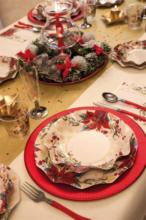 piatti e bicchieri di carta ideapiu 120 piatti di carta natale e capodanno piatti