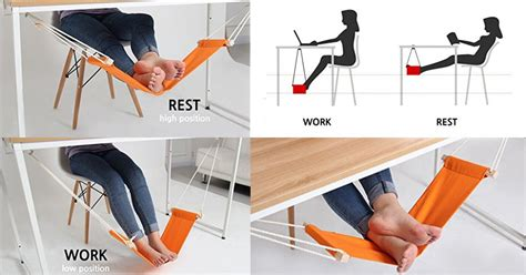 leg hammock for desk 6 ways to make sitting at your desk more ergonomic