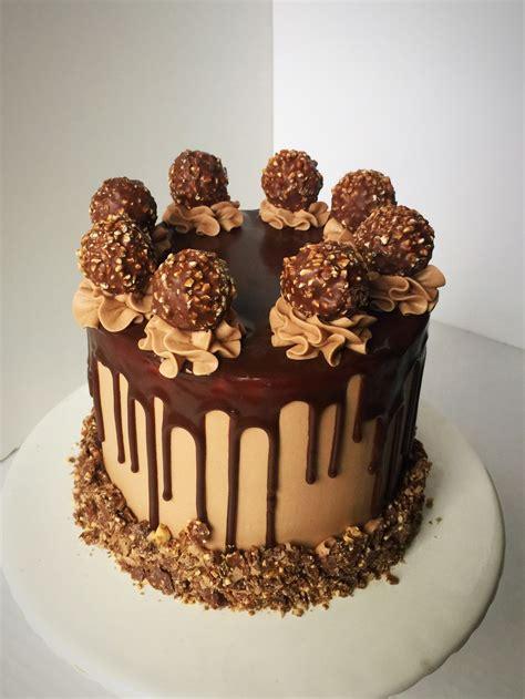 chocolate cake ferrero rocher ferrero rocher cake by sue