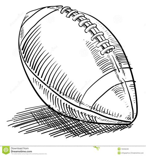 doodle football doodle style football royalty free stock images image