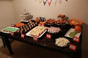 halloween party food table halloween party food table halloween pinterest