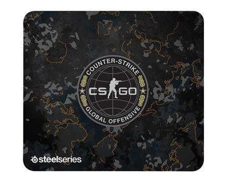 Mousepad Steelseries Qck Cg Go Camo Edition steelseries qck cs go camo edition wristband maxgaming
