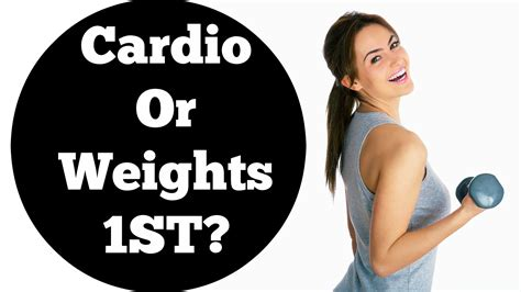 Should I Do Cardio Or Weights To Get Lean by Cardio Or Weights For Weight Loss Which One Should You