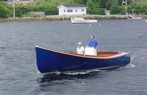 boat plans canada small lobster downeast skiff hull