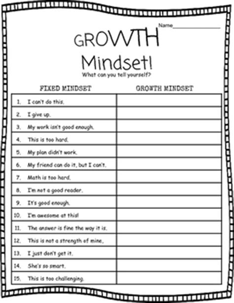 printable growth mindset questionnaire growth mindset worksheet by miss maggie teachers pay