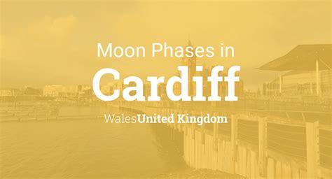 moon phases  lunar calendar  cardiff wales united kingdom