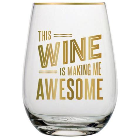 awesome wine glasses stemless wine glasses funny novelty unique wine glasses