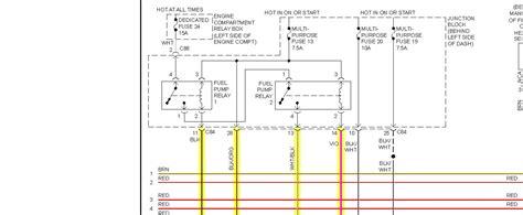 2002 mitsubishi galant fuel wiring diagram