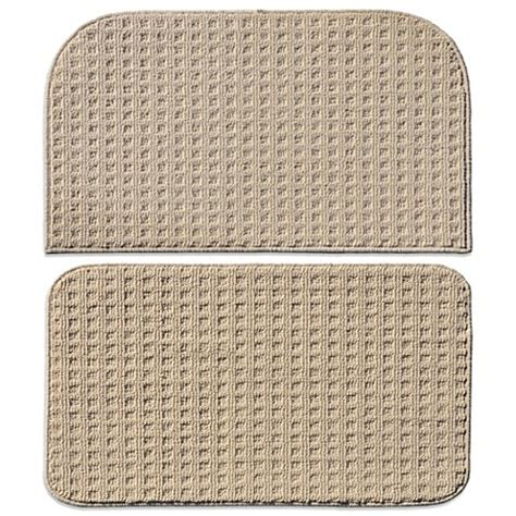 Square Kitchen Rug Buy Garland Herald Square 2 Kitchen Rug Set In Ivory From Bed Bath Beyond