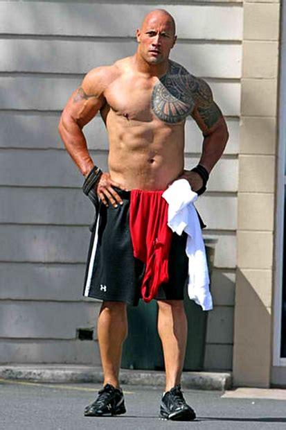 dwayne johnson tattoo meaning 6 12 82 dwayne johnson workout routine diet plan healthy celeb