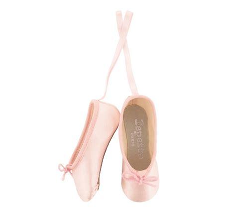 miniature ballet shoes tops pale pink no repetto