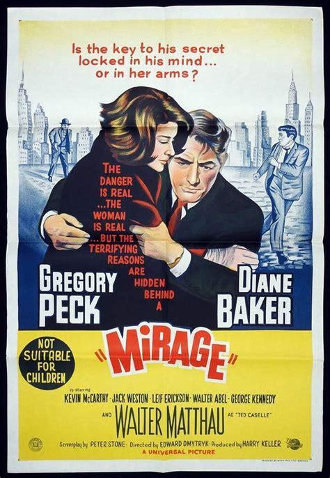 Mirage Original mirage original one sheet poster gregory peck diane