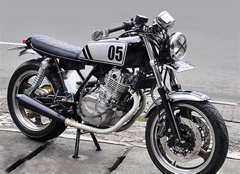 Tengki Suzuki Thunder suzuki thunder 250 scandinavian cafe racer