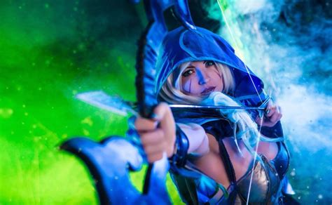 dota 2 cosplay wallpaper drow ranger dota 2 cosplay my bow is strung by amio mio